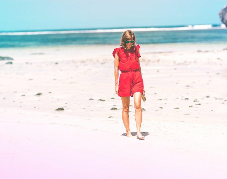 Krótkie plażowe sukienki